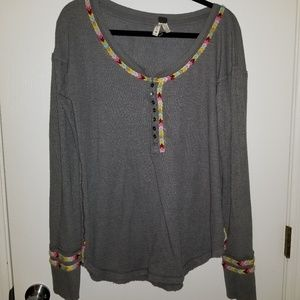 Free People Henley.